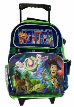 """16"""" Disney Luggage with Wheels Full Size Toy Story Rolling B"""