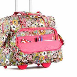 """17"""" Rolling Under Seat Luggage Travel  Suitcase wheels Lapto"""