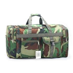 19 inch duffle bag black carry on