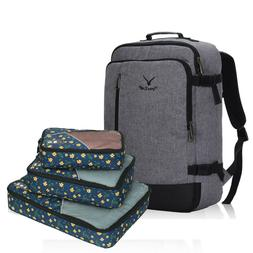 Hynes Eagle 20-inch Carry On Lift Upright Backpack with 3/pc