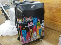 """Rockland 20"""" Polycarbonate Carry On, America. Slight scuffs"""