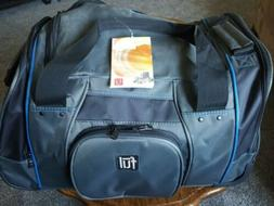 21 wheeled duffel bag gray blue carry
