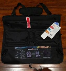 "SWISSGEAR 22"" Carry On Folding Garment Travel Bag Black The"