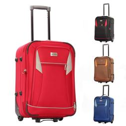 "22"" Spinner Carry-On Luggage Hard Lightweight Case Four Whee"