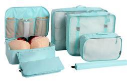 BAGAIL 7-Pcs Lightweight Luggage Packing Organizers Storage