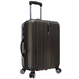 Travelers Choice Tasmania 21 Inch Expandable Spinner Luggage
