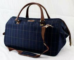 "LONDON FOG BRENTWOOD 22"" CARRY ON SHOULDER DUFFLE BAG NAVY P"