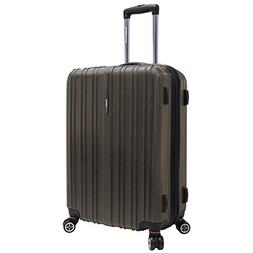 "Traveler's Choice 25"" Brown Tasmania Polycarbonate Spinner S"