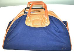CARRY ON SHOULDER DUFFLE BAG NAVY