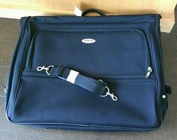 Samsonite Corsica Garment Bag Black Travel Hanging Suit Carr