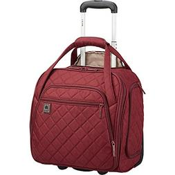 Delsey Quilted Rolling Underseat Bag For Carry-On Fits Overh