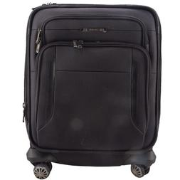 SAMSONITE EXECUTIVE 19 INCH CARRY-ON SPINNER SUITCASE IN BLA