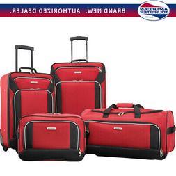 American Tourister Fieldbrook XLT 4 Piece Set - Red -