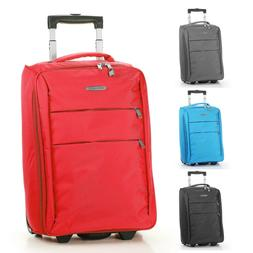 "20"" Carry on Luggage Bag Foldable Rolling Travel Lightweight"