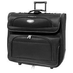 Folding Garment Bag Luggage Carry On Suitcase Travel Wheels