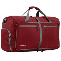 Gonex 80L Foldable Travel Duffel Bag for Luggage Gym Sports,