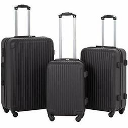 Hardshell Luggage Sets With Spinner Wheels 3 Piece Suitcase