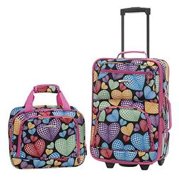 Rockland 2-pc. New Heart Luggage Set