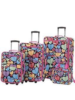 heart luggage set