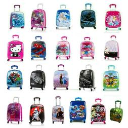 kids hard side carry on luggage case