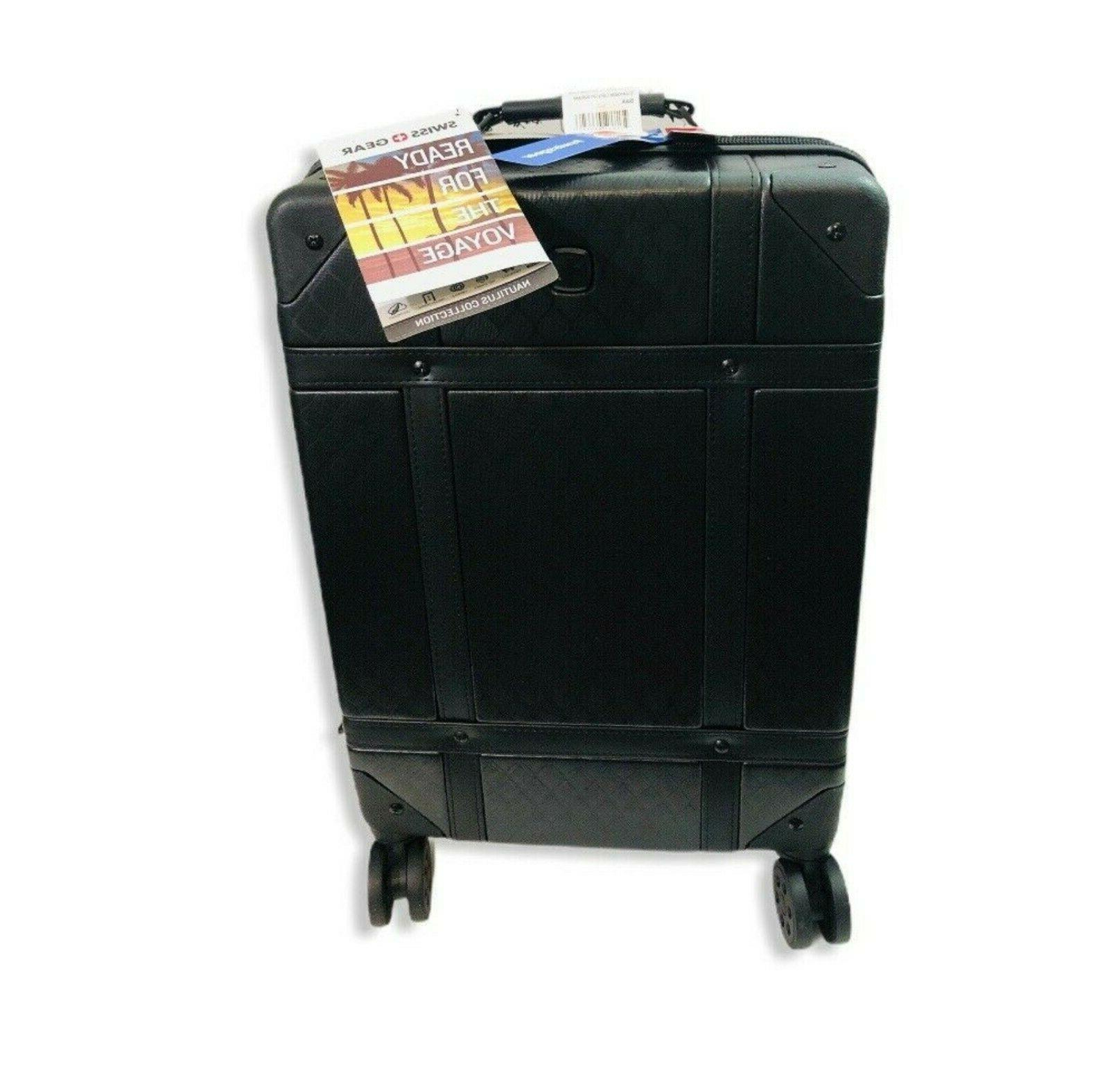 19 hardside trunk carry on travel suitcase