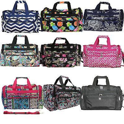19 inch carry on shoulder duffel bag