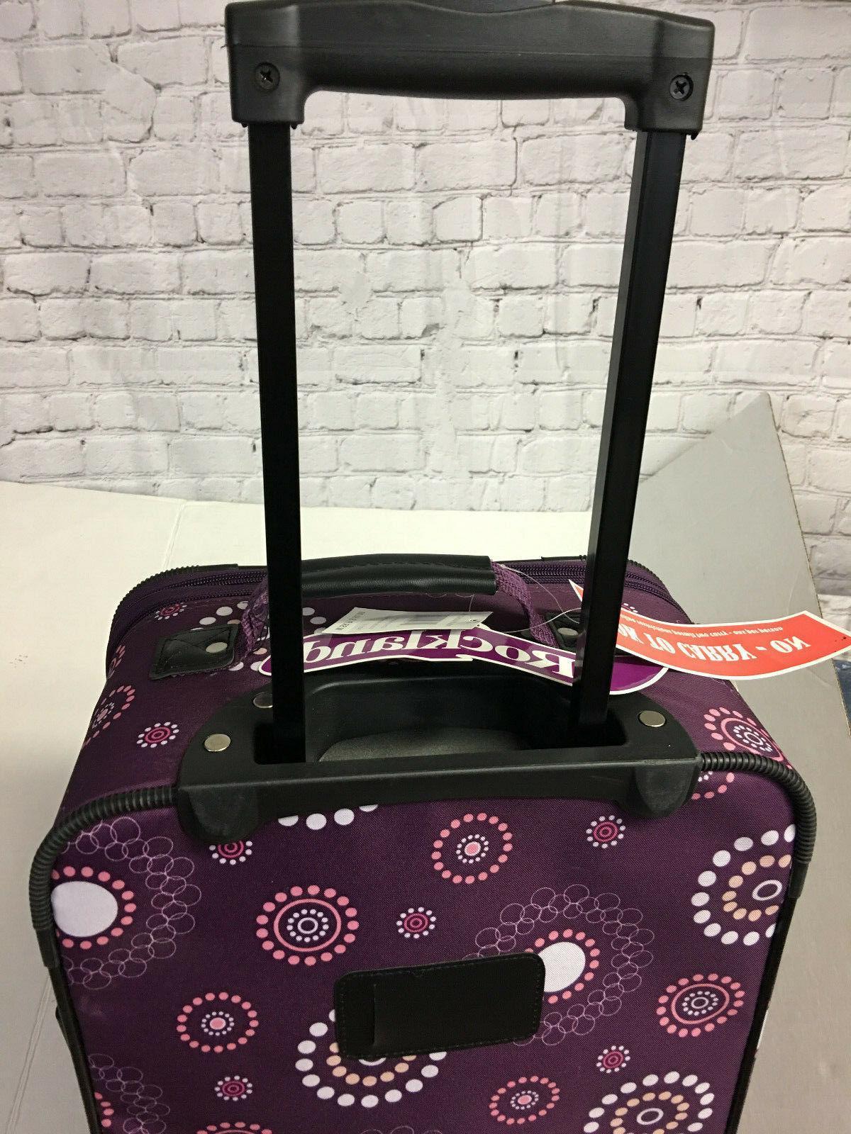 *ROCKLAND 19 Inch Purple Extending Handle