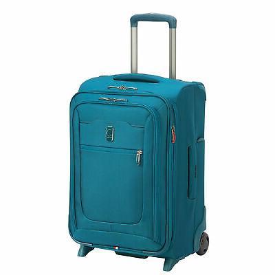 "DELSEY Spinner 20"" Hyperglide Carry Travel Teal"