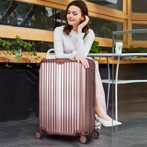 20'' Bag ABS Trolley 360° Spinner Carry On with Lock