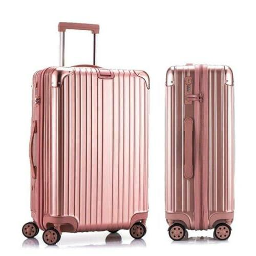 20 luggage travel set bag abs trolley
