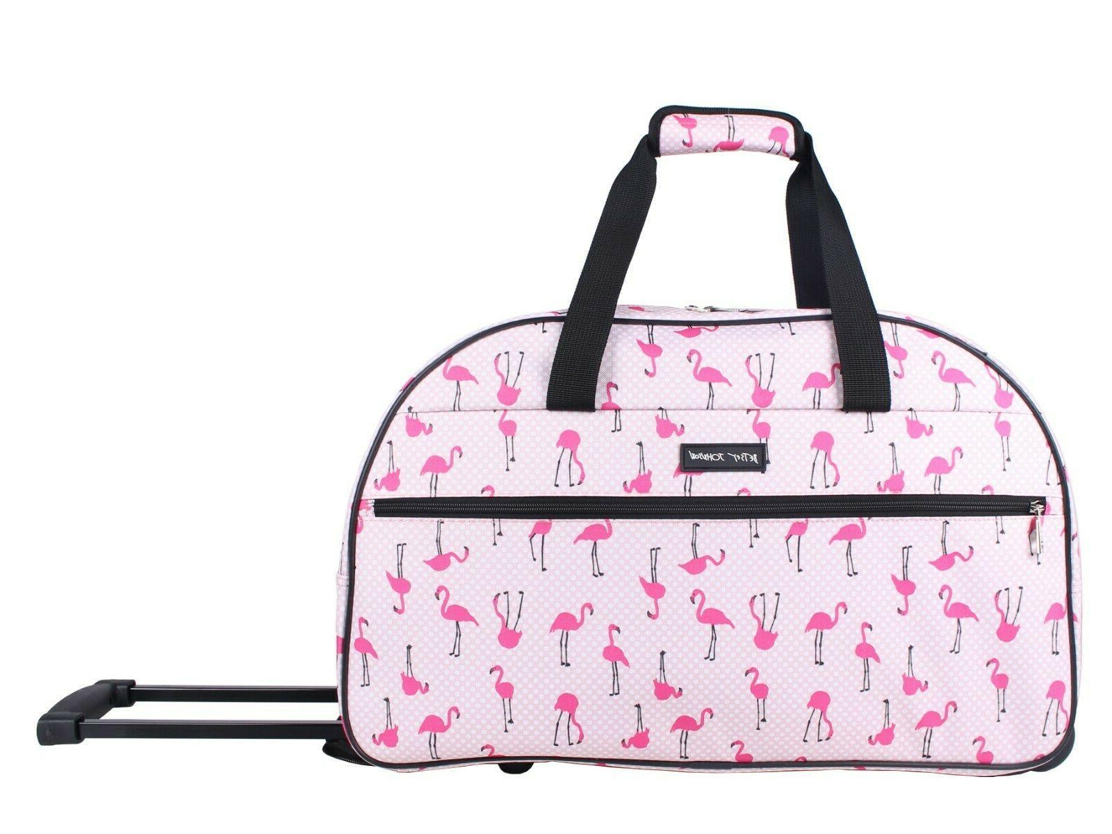 22 inch designer carry on luggage satchel