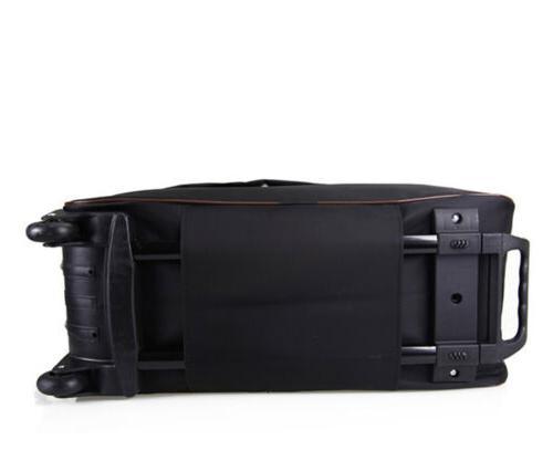 "24"" Rolling Duffle Bag Travel Luggage"