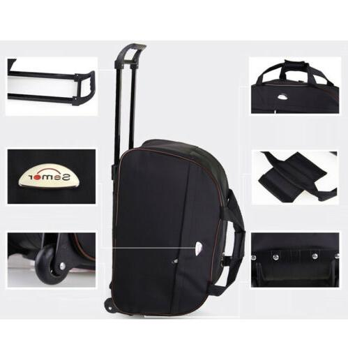 Duffle Bag Wheeled Bag Tote Carry Travel Suitcase