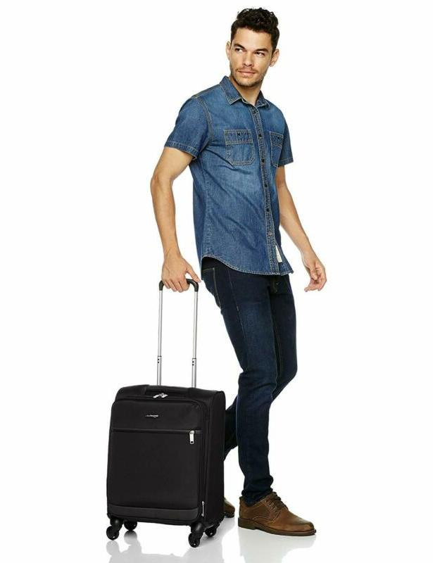 AmazonBasics Softside Carry-On Spinner Set