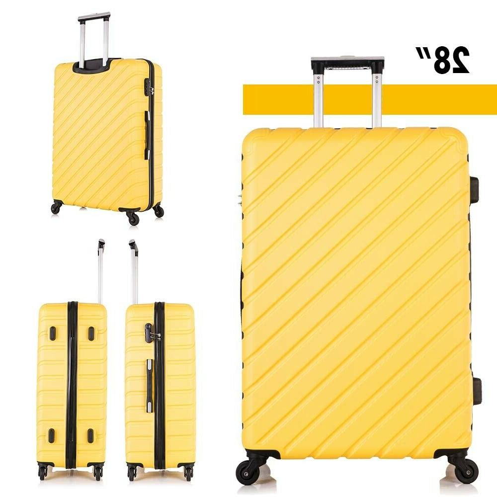4 On Luggage Spinner Travel
