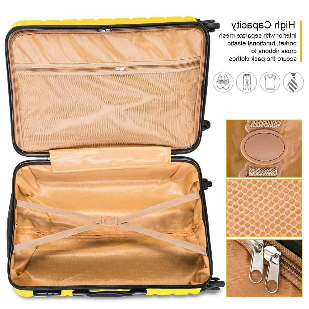 On Luggage Spinner Yellow