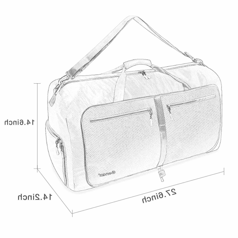 Gonex Travel Foldable Tear Resistant Luggage Bag