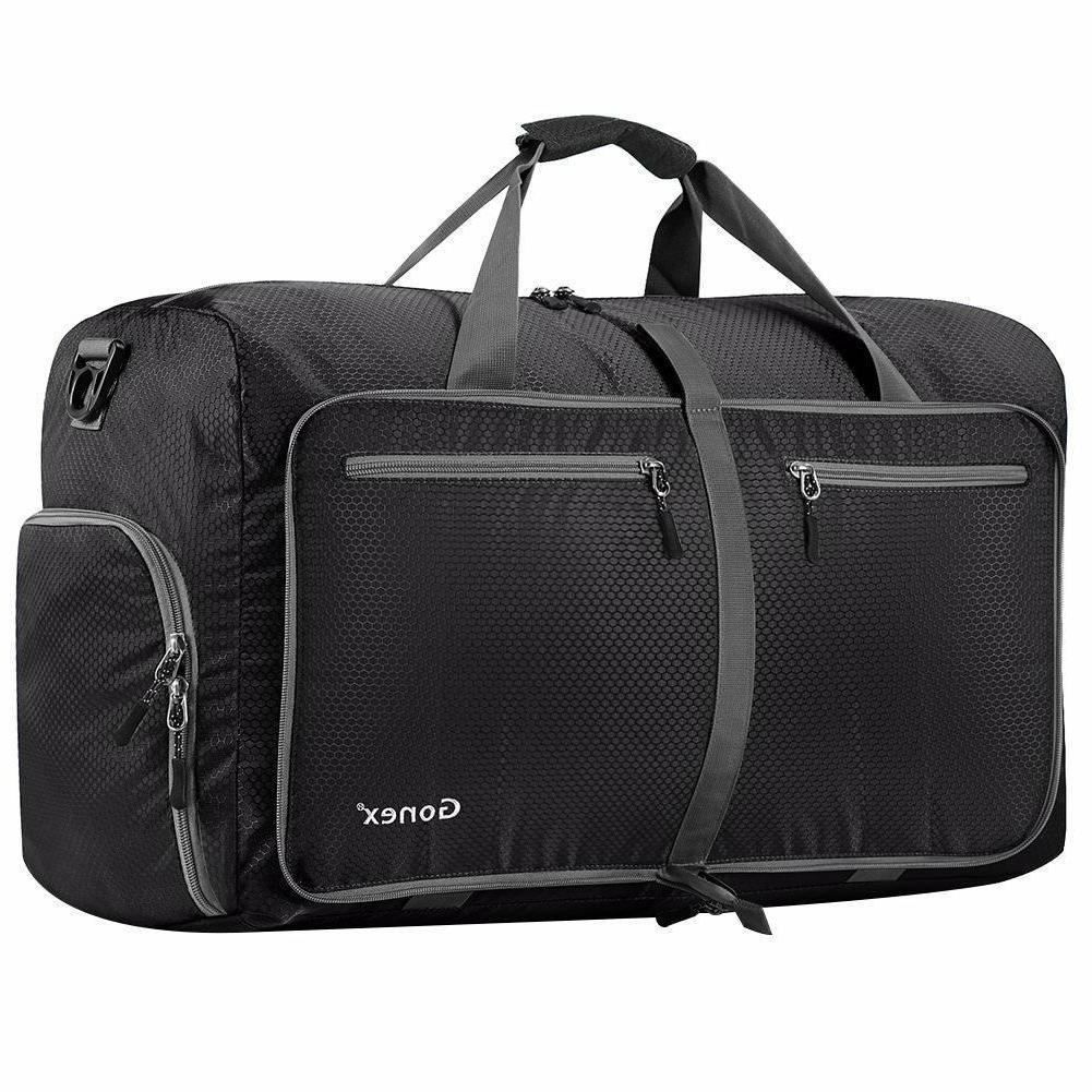 80l travel foldable tear resistant luggage bag