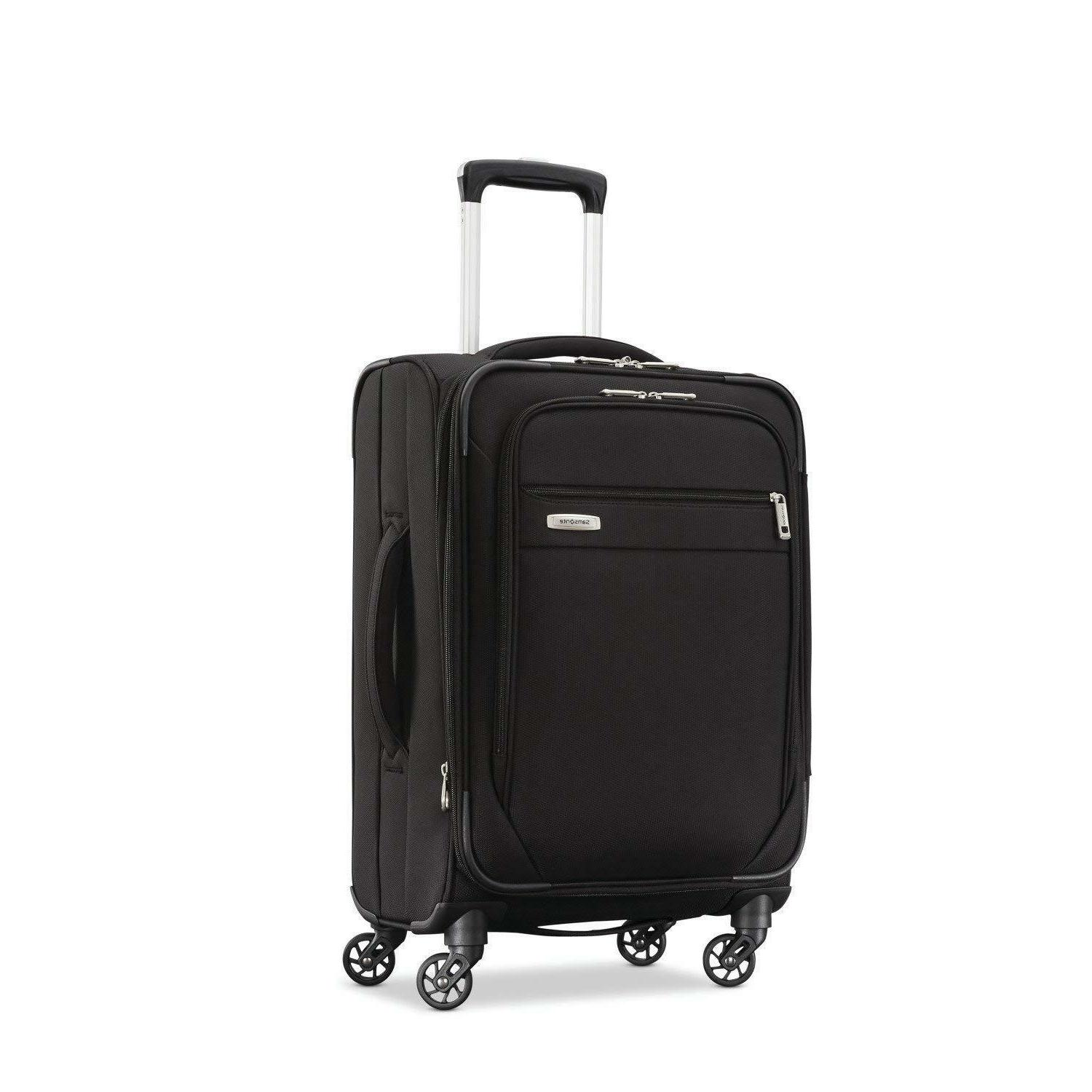 advena carry on spinner 19 inch black