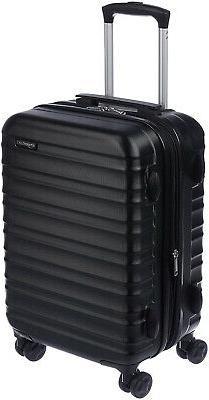 AmazonBasics Hardside Spinner Luggage Suitcase Carry On 20-I