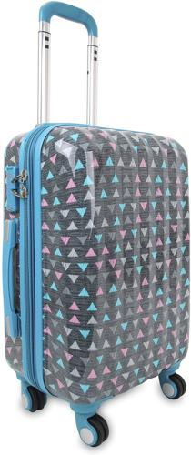 art polycarbonate carry on luggage sprinkle