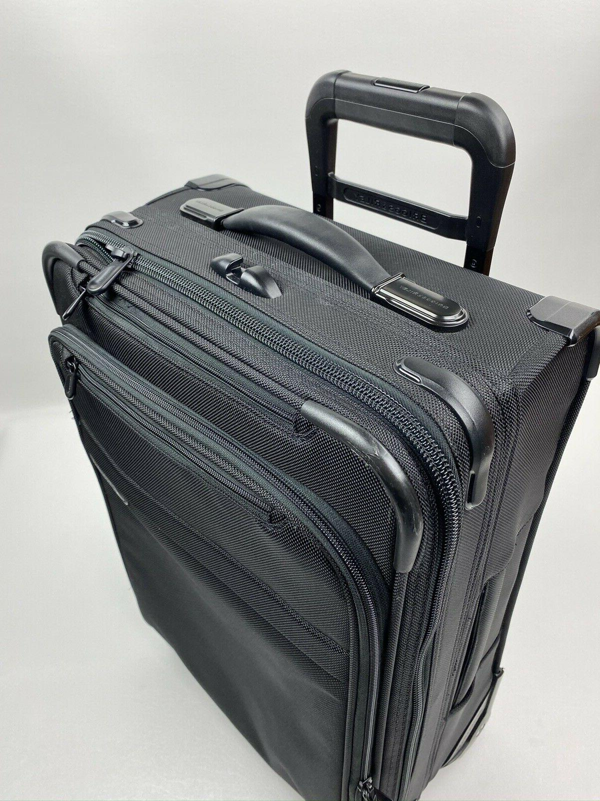 Briggs & Baseline 22-Inch Expandable Wheeled Carry-On U122CX-4