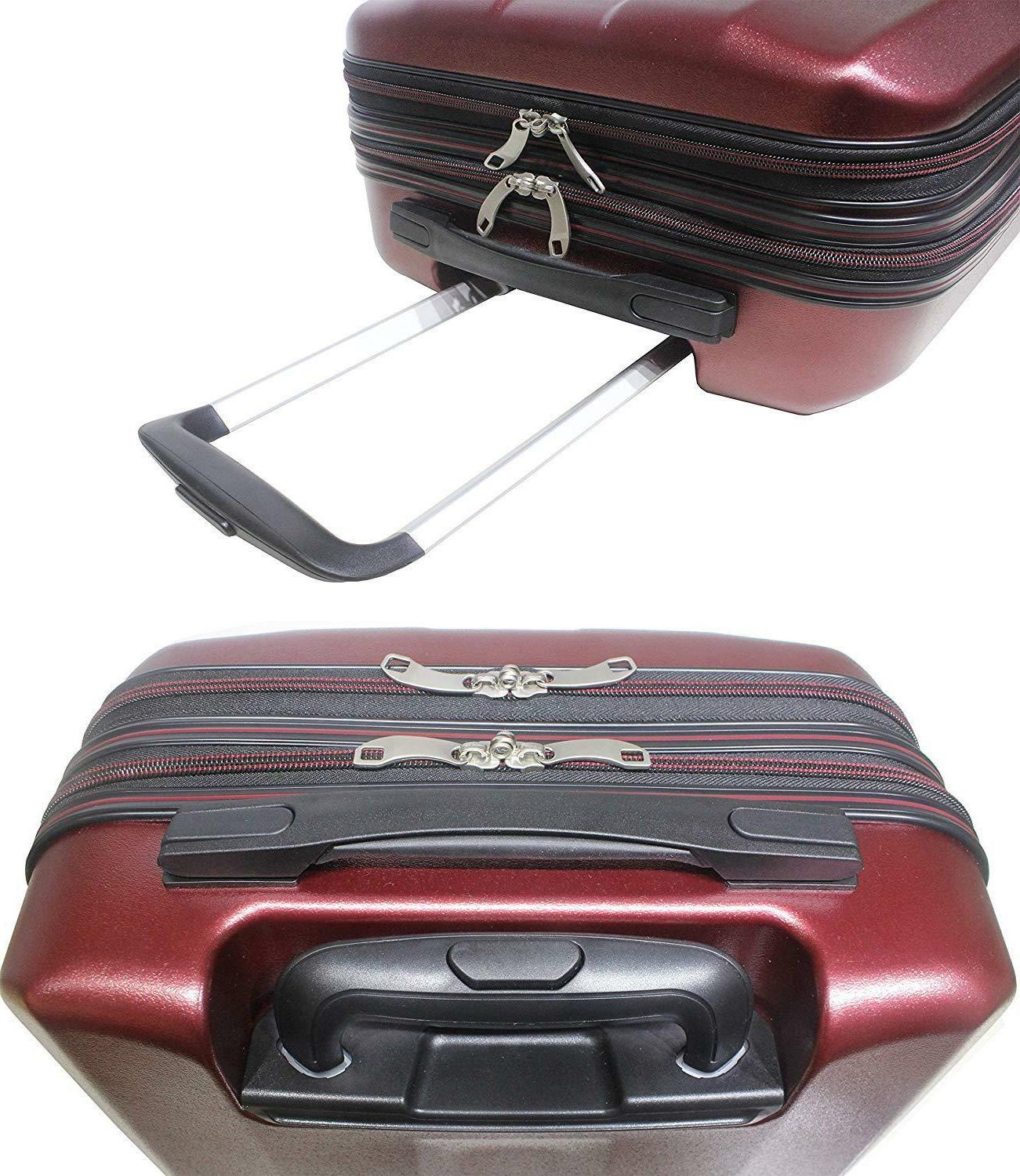 """Exzact Cabin 20""""/ Front Pocket Laptops Red"""