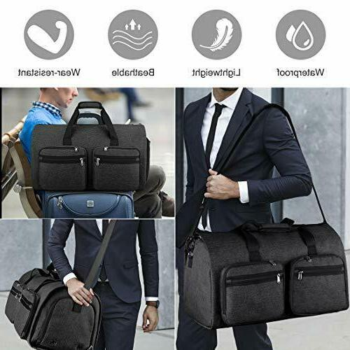 Carry Garment Convertible Bags for Men Black