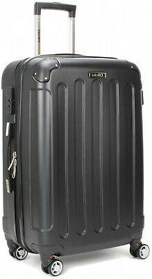 Carry-On Hard Shell Spinner Luggage Combination Black 24 inch