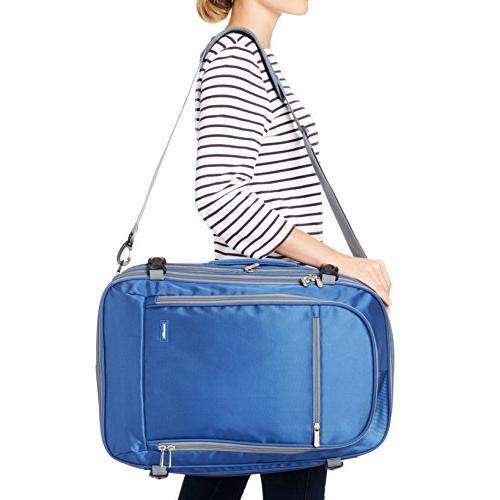 AmazonBasics Travel Backpack, Navy
