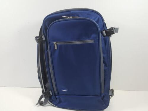 carry on travel backpack navy