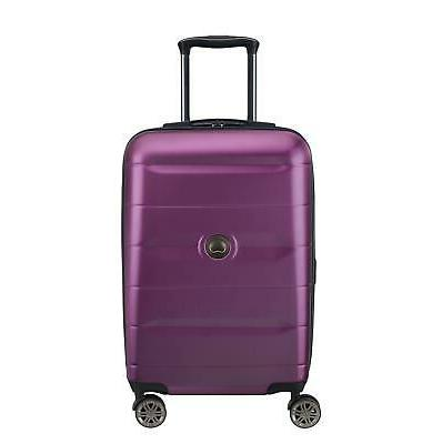 DELSEY Comete Expandable Rolling On Luggage Suitcase, Purple