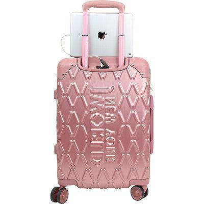 J York Dia 3 Hardside Spinner Luggage Luggage Set NEW