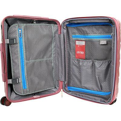 J World Dia Piece Spinner Luggage NEW
